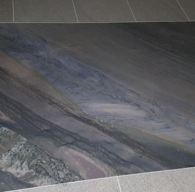 Naturstein-Boden- und Wand-Teppiche