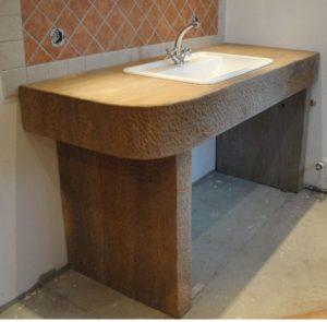 Sandstein-Waschtisch